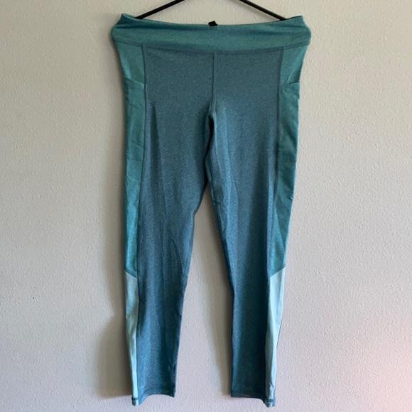 Heather Green Workout Pants w/Pockets Aeropostale